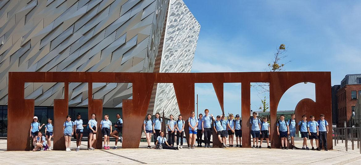 School Tour to Titanic Belfast